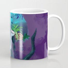 Plant collecting mermaid Coffee Mug