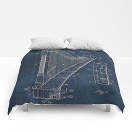 Ekman  Harp  patent art Comforters