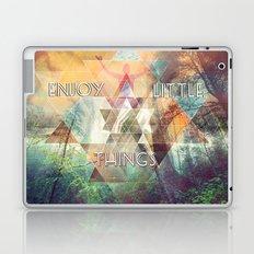 Enjoy Little Things Laptop & iPad Skin