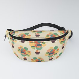 Whimsical Hot Air Balloon Fanny Pack