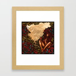Del the Funky Homosapien & Parallel Thought - Attractive Sin front cover art Framed Art Print