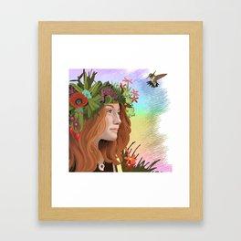 The Choice of Joy Framed Art Print