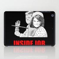 jfk iPad Cases featuring JFK Assassination: Inside Job! by InvaderDig