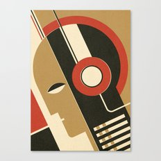 Bauhausmusic - Part I Canvas Print