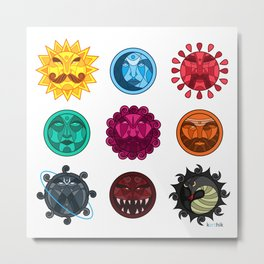 Astrologicality  Metal Print