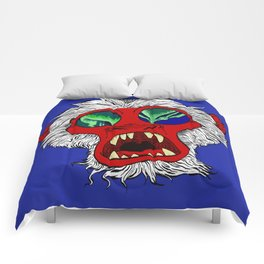 """Arctic Monkey"" by Virginia McCarthy Comforters"