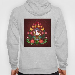 Bunny Of The Flowers Hoody