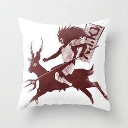 sato evolve Throw Pillow