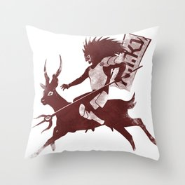 sato evolve Throw Pillow