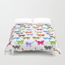 Cat Pattern Duvet Cover