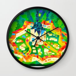 WORLD HERITAGE ART Wall Clock