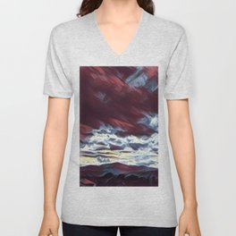 Dreaming mountains Unisex V-Neck