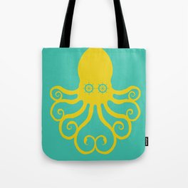 The Kraken Encounter Tote Bag