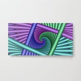 towel full of colors -c- Metal Print