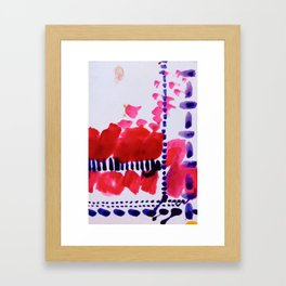 Map To Morocco (Refined Series 4)  Framed Art Print