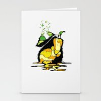 pear Stationery Cards featuring PEAR by maivisto