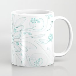 Blue flower frac Coffee Mug