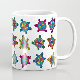 Multi Color Turtles Coffee Mug