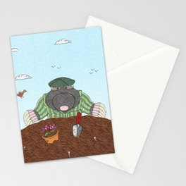 Country Mole Stationery Cards