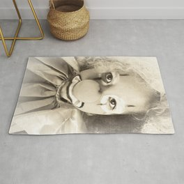 Clown girl Rug