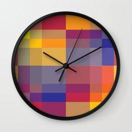 Pixel 04 Wall Clock