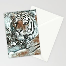 NewArt Animal Tiger Stationery Cards