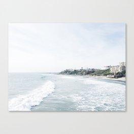 San Clemente Surfside  Canvas Print