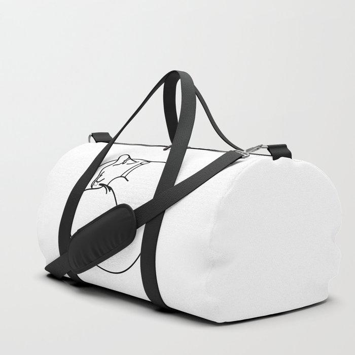 Sleeping Cat Duffle Bag