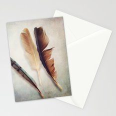 Feather Study III Stationery Cards