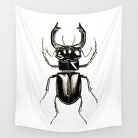 insect Wall Tapestries featuring INSECT №2 by Reel Feel