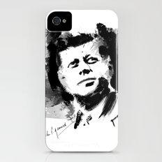John F. Kennedy JFK iPhone (4, 4s) Slim Case