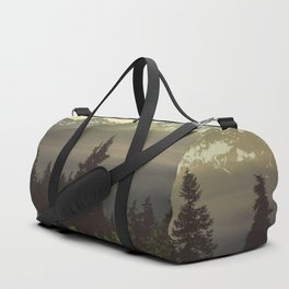 Morning in the Mountains Duffle Bag
