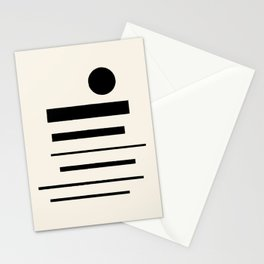 Abstract Composition 11 Stationery Cards