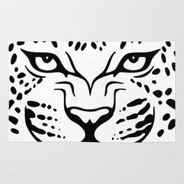 jaguar animal wild junggle head face Rug