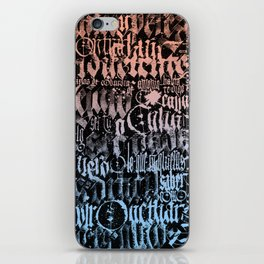 Sunday thoughts about shitty life iPhone Skin