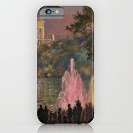 Fountain at Pernes-Les-Eaux, Provence, France by Laura Sylvia Gosse iPhone Case