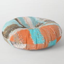 Southwestern Colors Design Floor Pillow