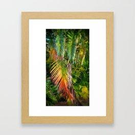 Palm Glow 2 Framed Art Print