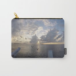 Cayman Island Sunset Carry-All Pouch