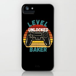 Level Unlocked Baker iPhone Case