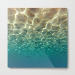 Underwater Upside Down Metal Print