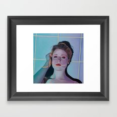 Y2K-Esque Framed Art Print