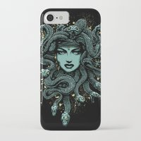 medusa iPhone & iPod Cases featuring Medusa by miles to go
