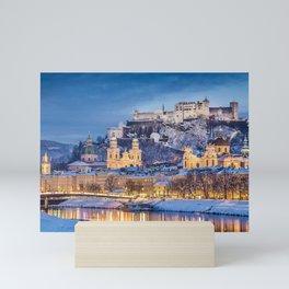 Awe Inspiring Fairytale  Hohensalzburg Castle Salzburg Austria Europe Ultra HD Mini Art Print