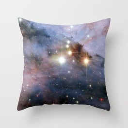 Colossal stars Throw Pillow