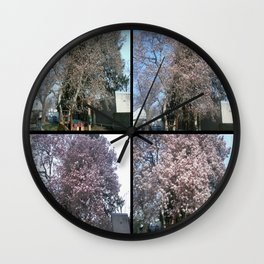Tree Blossoms Wall Clock