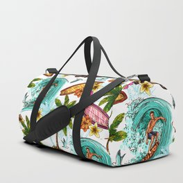 Summer surfing Duffle Bag