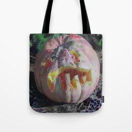 Ugly Slimy Pumpkin For Pie Tote Bag