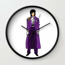 Purple Dove 1 Wall Clock