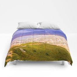 The rainbow of nature. Comforters